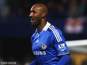 Anelka's hat-trick turned the match Chelsea's way at Vicarage Road.