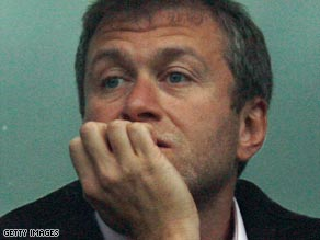 Big spender: Russian billionaire has spent about $1.03 billion on Chelsea since taking over in 2003.