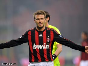 Beckham's long-running proposed move to AC Milan could be set to reach a conclusion.