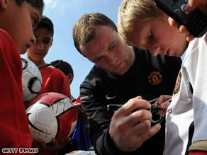 Sorry kids: Manchester United will no longer be giving autographs at their Carrington training ground.