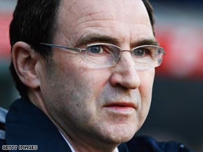 Villa manager Martin O'Neill was frustrated after seeing a two-goal lead disappear.