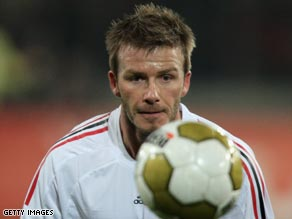 Superstar Beckham plans to buy a franchise in Major League Soccer when he hangs up his boots.
