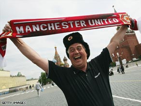 Fan focus: The Republik of Mancunia blog is popular with Manchester United supporters.