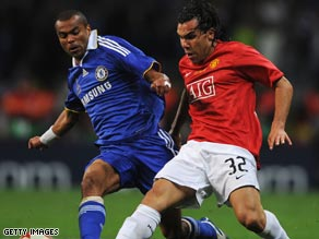 Two English teams -- Chelsea and Manchester United -- contested the 2008 Champions League final.