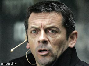 Phil Brown has been warned about his future conduct after a touchline row with Joe Kinnear in January.