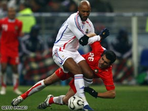 Anelka misses a World Cup double against Lithuania and is a Champions League worry for Chelsea.