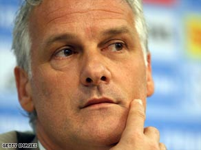 The departure of Dutchman Rutten had been widely predicted after a string of mediocre results.