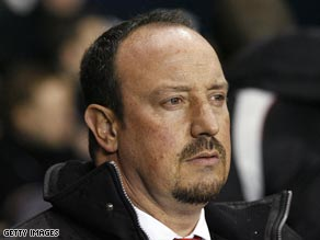 Benitez recently signed a new contract to keep him as Liverpool manager until 2014.