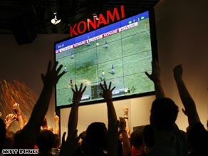 Which game do you worship? Konami's Pro Evolution Soccer or EA Sport's FIFA?