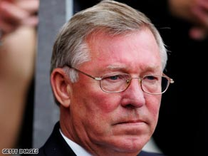 United manager Alex Ferguson is facing a big test to lift his faltering side.
