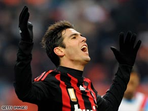 Kaka lifted Milan to Champions League glory in 2007 and is adored by the Rossoneri fans.