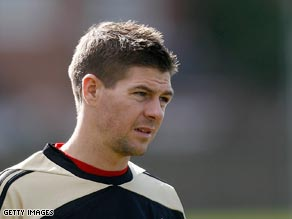Gerrard is considered vital to Liverpool's slim hopes of making the last four.