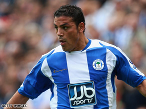Wigan and Egypt striker Amir Zaki has mended relations with his club manager.