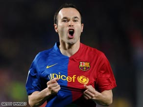 The inspirational Iniesta put Barcelona on the way to victory with a brilliant goal on Wednesday.