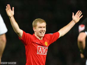 Scholes has been an integral part of United's incredible success under Alex Ferguson.