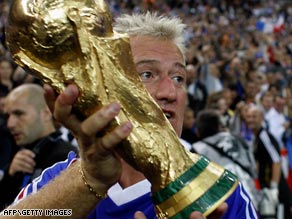 World Cup winning captain Didier Deschamps is returning to Marseille as coach at the end of the season.