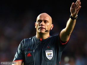 Tom Henning Ovrebo's refereeing of the semifinal between Chelsea and Barcelona has proved controversial.