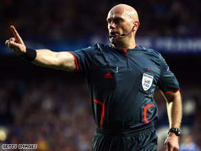 Norwegian referee Tom Henning Ovrebo faces criticizm for his decisions in the Champions League semi-final