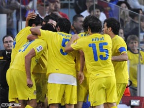 Villarreal silenced the Camp Nou crowd with late equalizers to deny Barcelona.