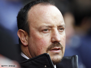 CNN speaks with Liverpool manager, Rafael Benitez