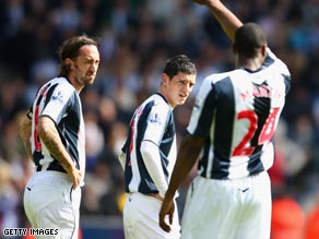 West Bromwich Albion will be playing Championship football again after their Premier League relegation.