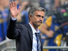 Coach Mourinho demanded total commitment from Inter as they celebrated another Italian title.