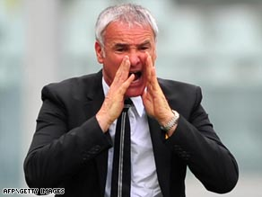 Juventus have ended Ranieri's two-year spell as coach with the Serie A club desperate for a third place finish.