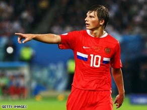 Andrei Arshavin has become Russia's first football superstar since the Soviet era.