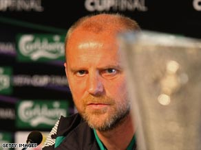 Bremen coach Schaaf hopes the UEFA Cup will find a permanent resting place at his Bundesliga club.
