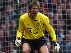 Van der Sar is determined to avoid a second Champions League final defeat in Rome's Stadio Olimpico.