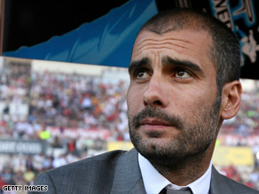 Pep Guardiola plans to attack holders Manchester United in Wednesday's Champions League final.