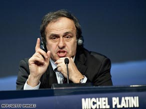 "Michael Platini will have ""one eye"" on security ahead of the Champions League final."