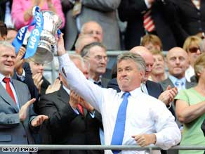 Guus Hiddink enjoyed a short-but-successful stay at Premier League club Chelsea