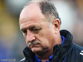 Luiz Felipe Scolari proved to be a disappointment at English Premier League side Chelsea