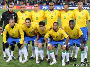 The Brazilian national side top the FIFA world rankings again after an absence of two years.