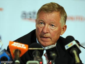 Ferguson announces their latest acquisition at a press conference in Kuala Lumpur.