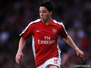 Samir Nasri has impressed since joining Arsenal from French club Marseille last summer.