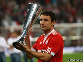 Bayern Munich captain Van Bommel will be hoping to lift more trophies for the Bavarian giants this season.