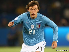 Andrea Pirlo hopes to help AC Milan overcome the loss of Paolo Maldini and Kaka this season.