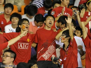 Asian fans of Manchester United