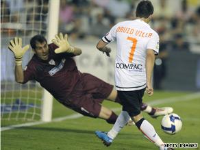 Despite intense speculation Valencia have kept hold of David  Villa for their final season at the Mestalla.