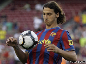 Barcelona coach Pep Guardiola will hope Zlatan Ibrahimovic settles into life at the Nou Camp quickly.
