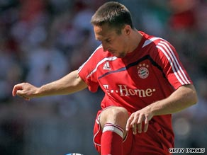 Franck Ribery has again confirmed his desire to remain with Bundesliga giants Bayern Munich this season.