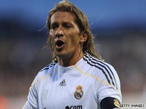 Salgado won two Champions League and four Primera Liga titles during his 10 years at Real Madrid.
