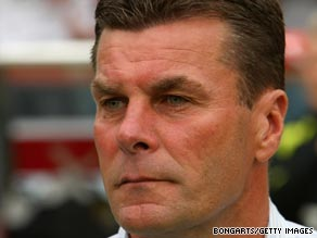 Dieter Hecking has departed Hannover after a poor start to the German football season.