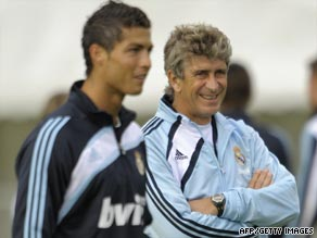 Manuel Pellegrini is encouraged with the performances of Cristiano Ronaldo and company in pre-season.