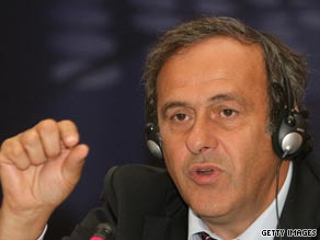 UEFA president Michel Platini has announced plans to try and curb debt among Europe's top clubs.