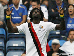 Emmanuel Adebayor is proving to be an early success following his big-money move to Manchester City.