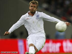"Beckham said the Italian coach had made the team ""very serious and very concentrated."""