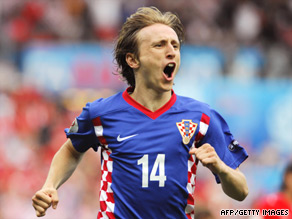 Luka Modric's absence is a major setback as Croatia aim to get a result against England next week.
